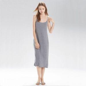 Natori Shangri-La Night Gown Heather Grey S88174
